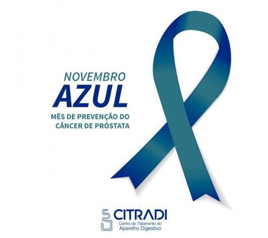 Novembro Azul: um mês para a conscientização do câncer de próstata