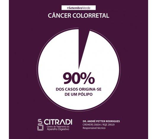 Setembro Verde alerta para a prevenção do câncer colorretal