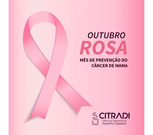 Outubro Rosa alerta para o Câncer de Mama